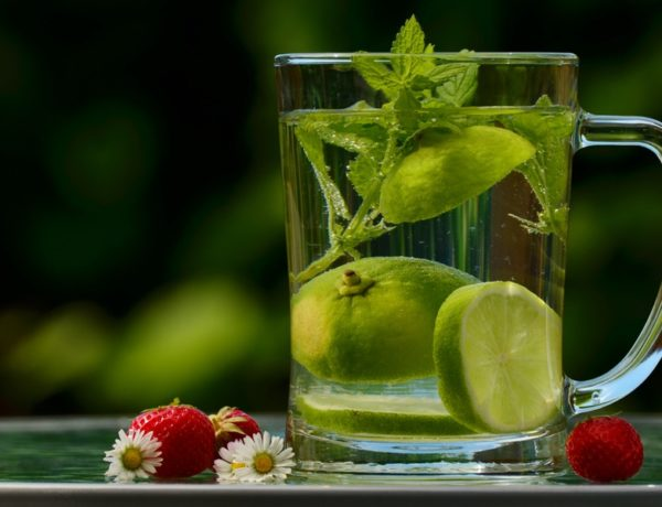 Detox: pohár vody