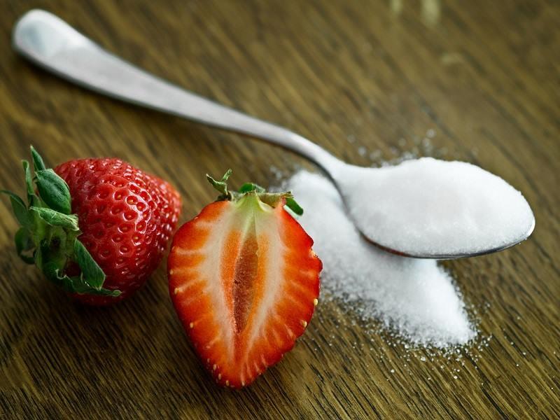 Detoxikačná kúra: jahoda a cukor