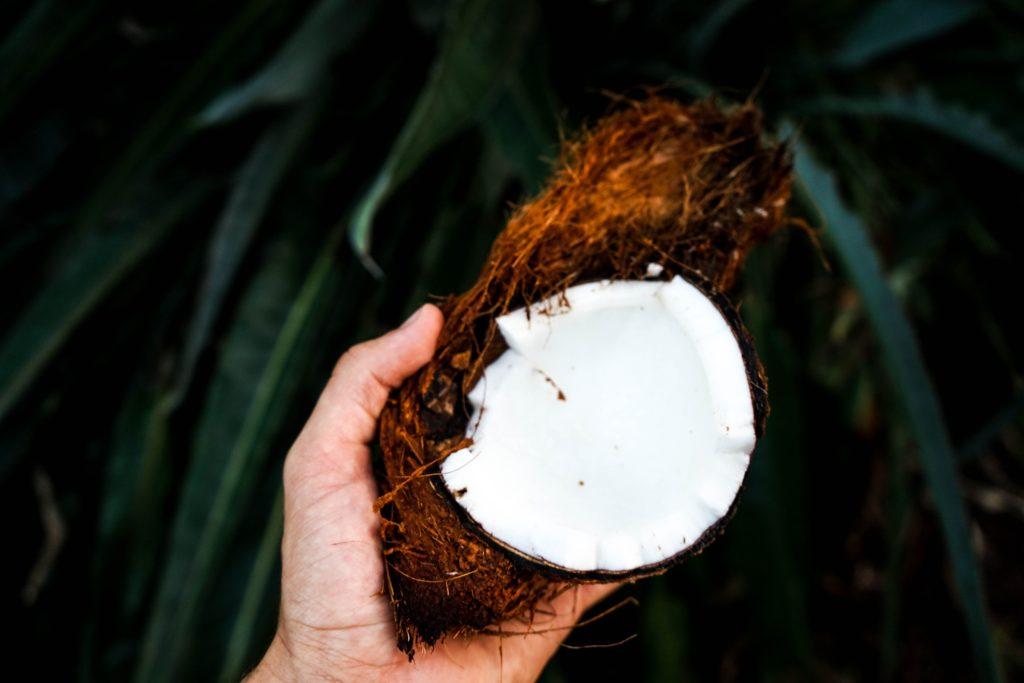 kokosový olej je silný pomocník na odstránenie bradavice