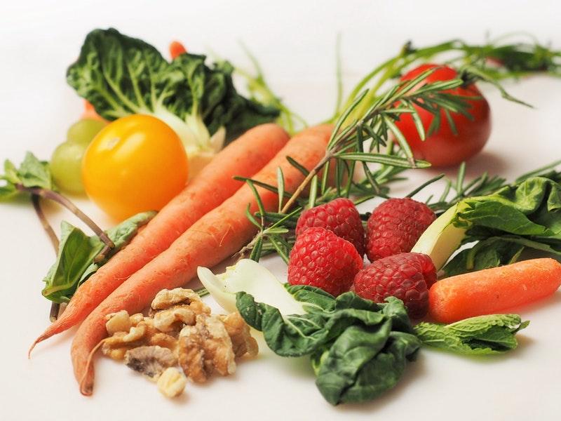 detox - surová zelenina a ovocie