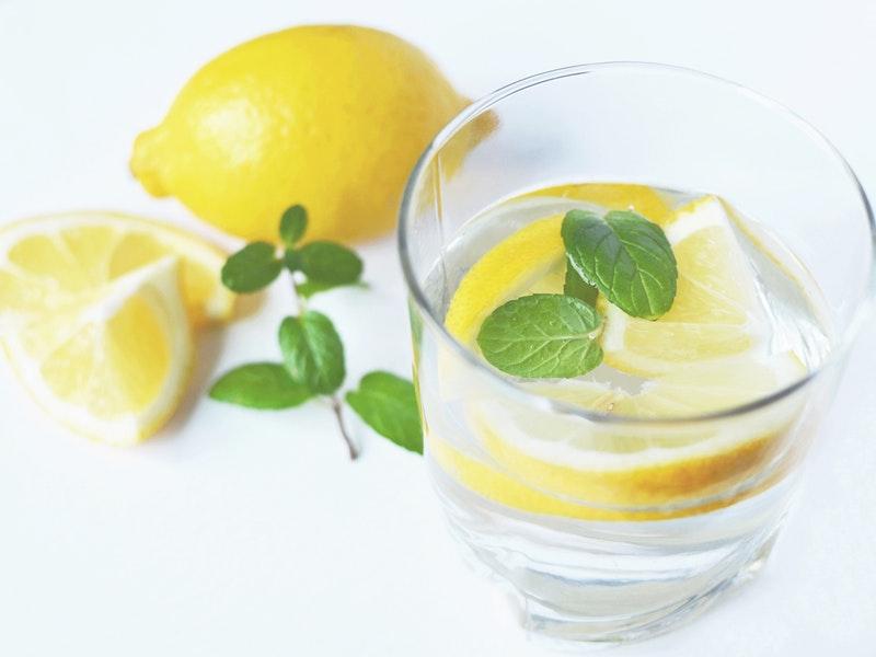 citrón a mastná pleť