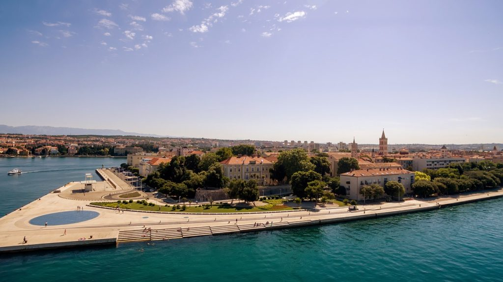 morský organ v Zadare
