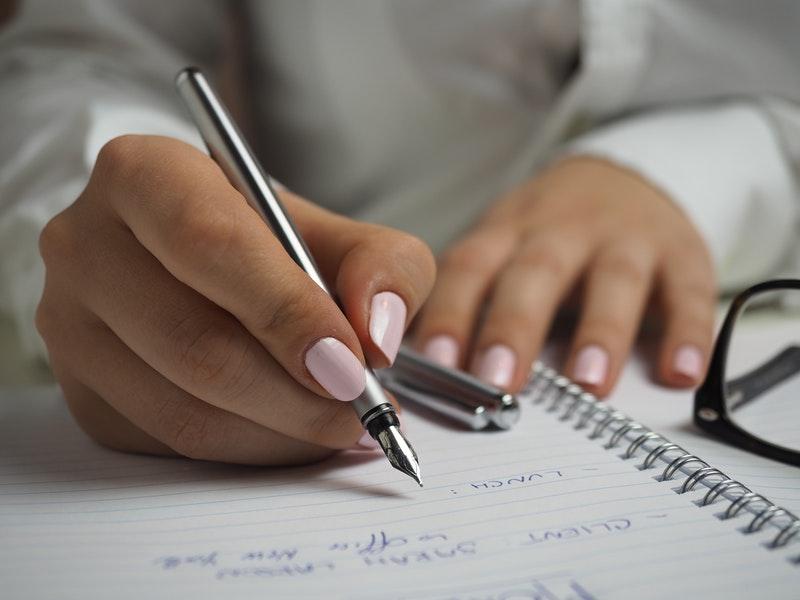 písanie elimiuje stres z práce