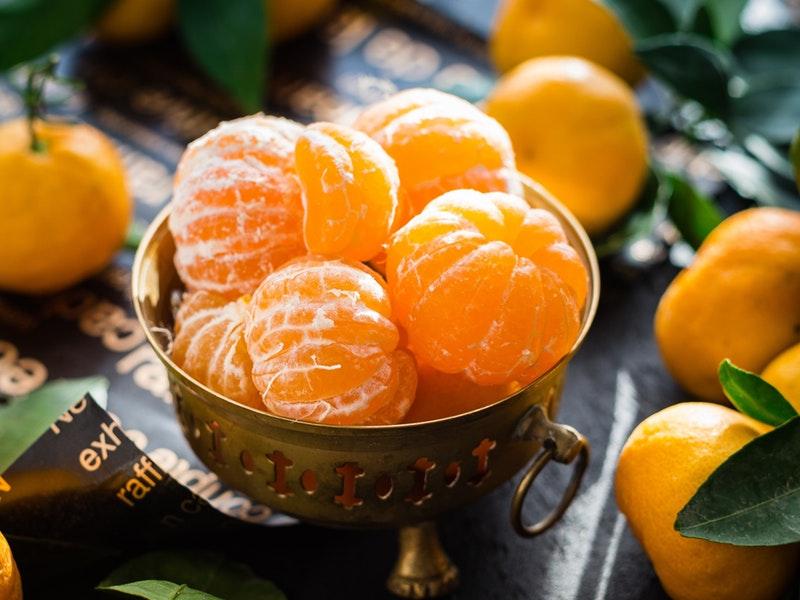mandarínky obsahujú vitamíny na pleť