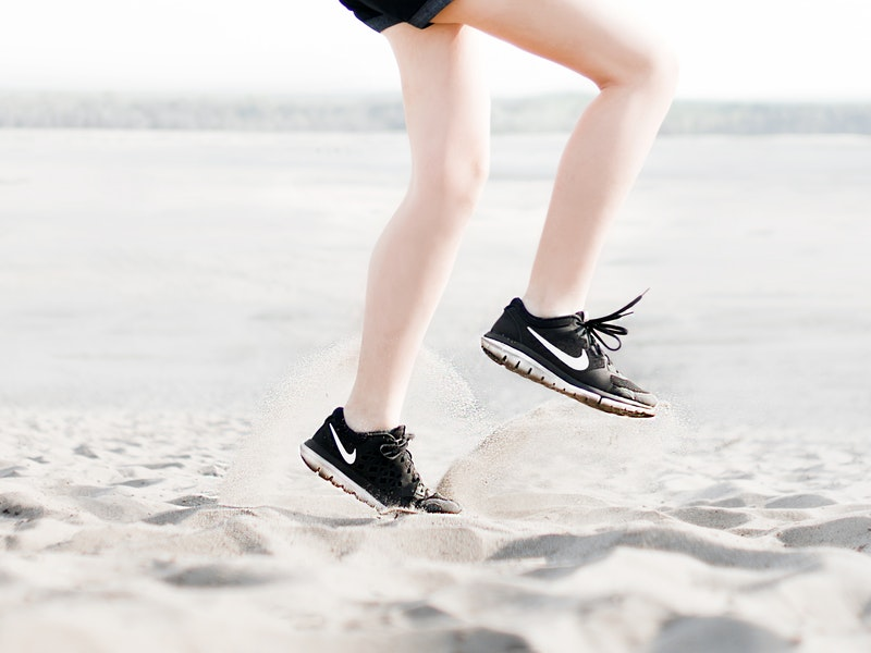 pohyb pomôže zredukovať strie na zadku