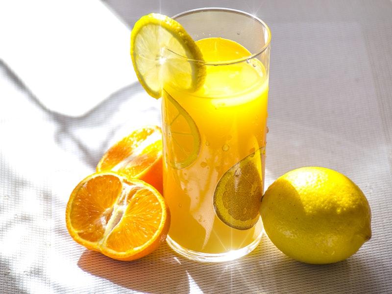 vitamín C v citrusoch