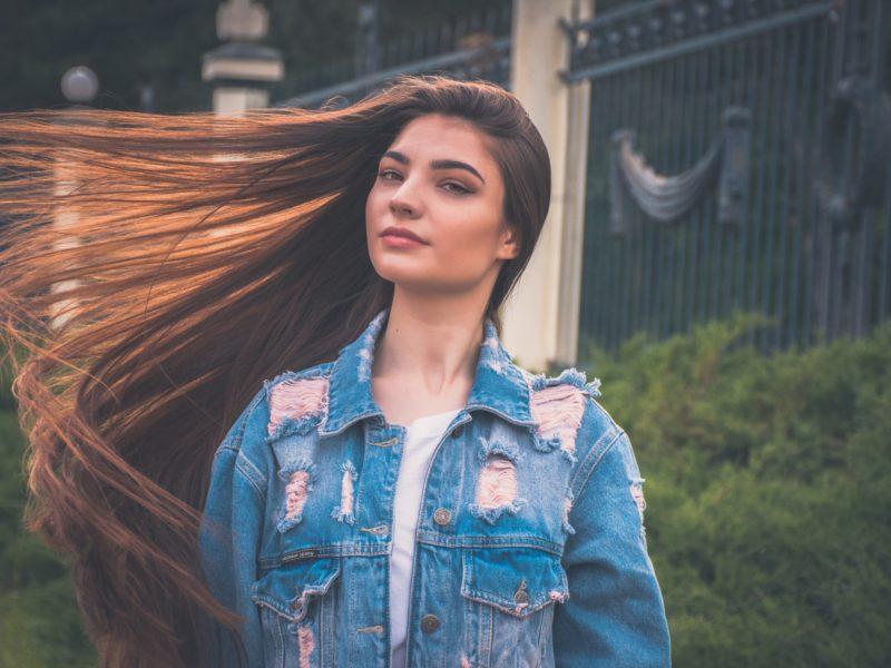 dlhé vlasy vďaka správnej výžive