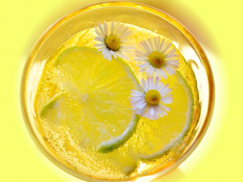 citrónová kôra pre krajšie riasy