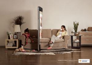 kampaň ukazuje na negatívny vplyv smartfónov
