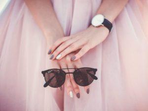 ružová sukňa