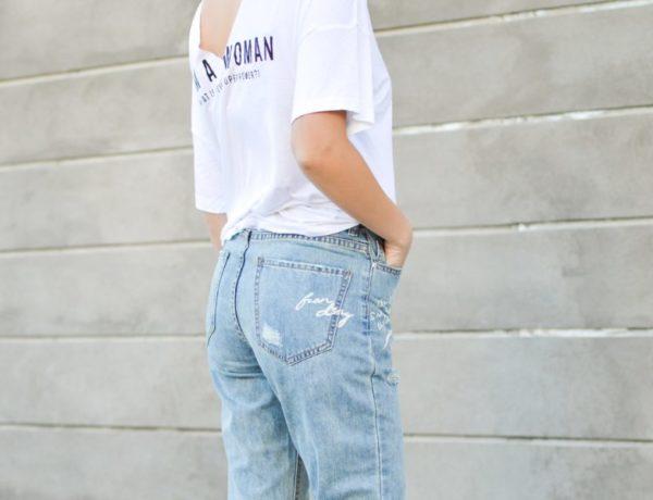 pohodlné džínsy