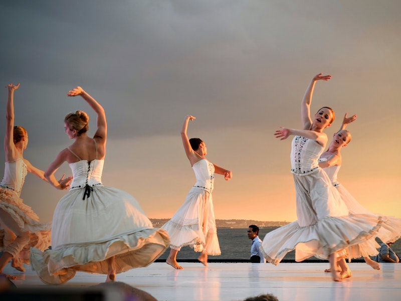 letné podujatia na Slovensku (tanec)