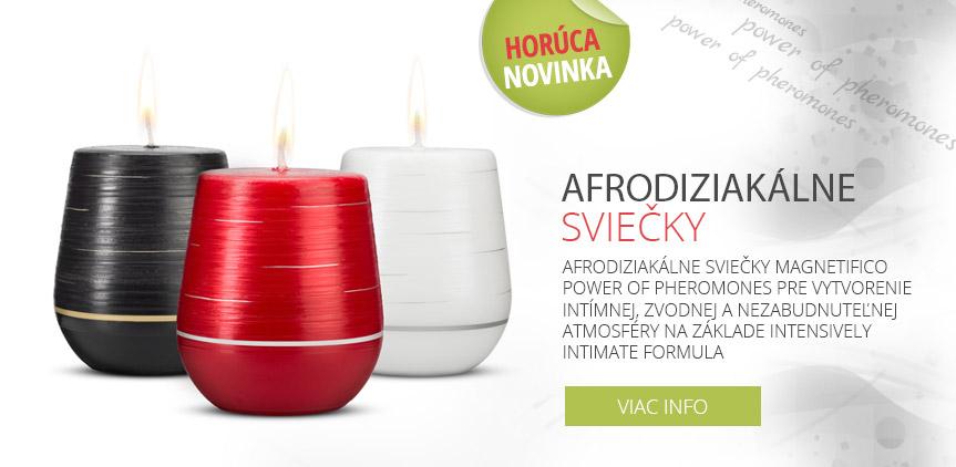 afrodiziakálne sviečky