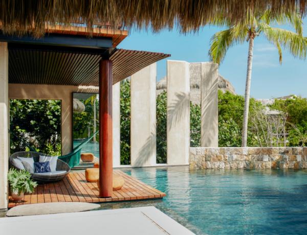 Súkromný bazén v Mexiku (Airbnb)
