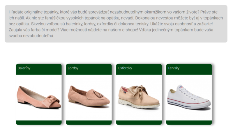 Originálne topánky na svadbu