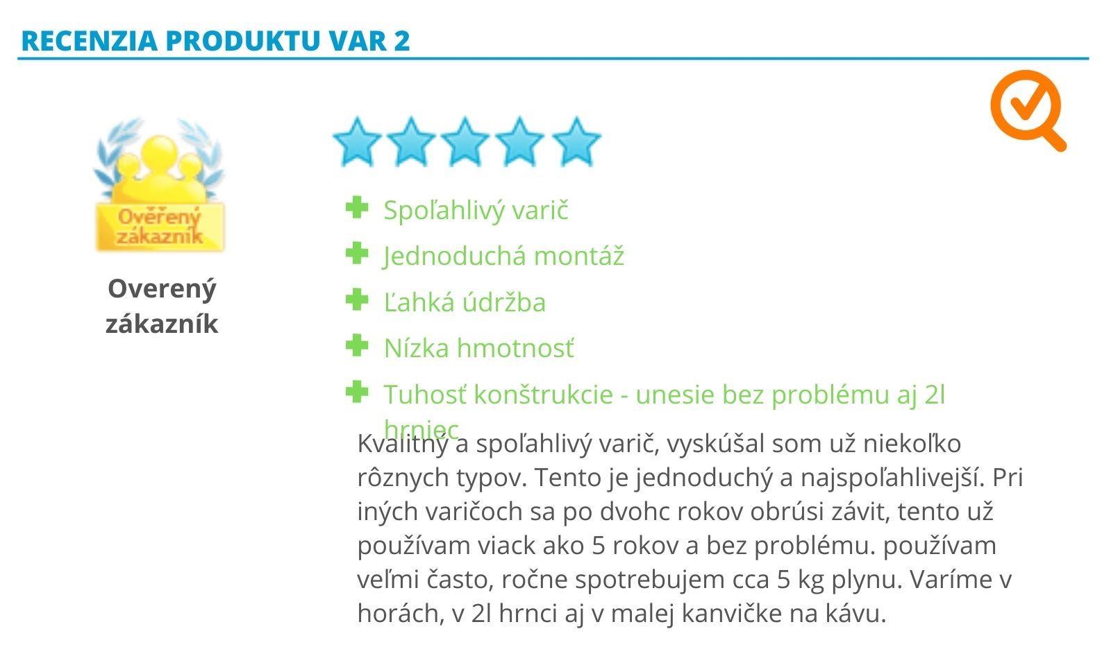 heureka.sk recenzia varicov