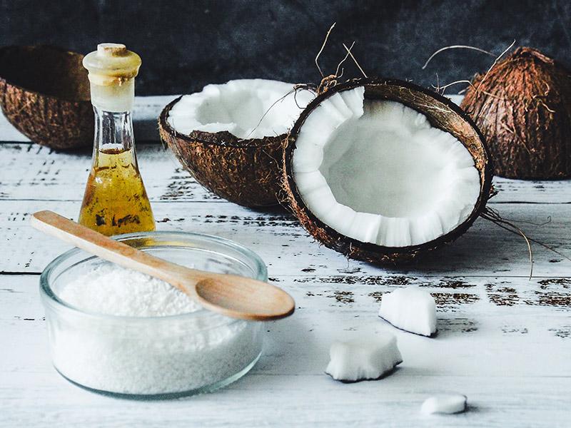 Kokosová domáca maska na vlasy