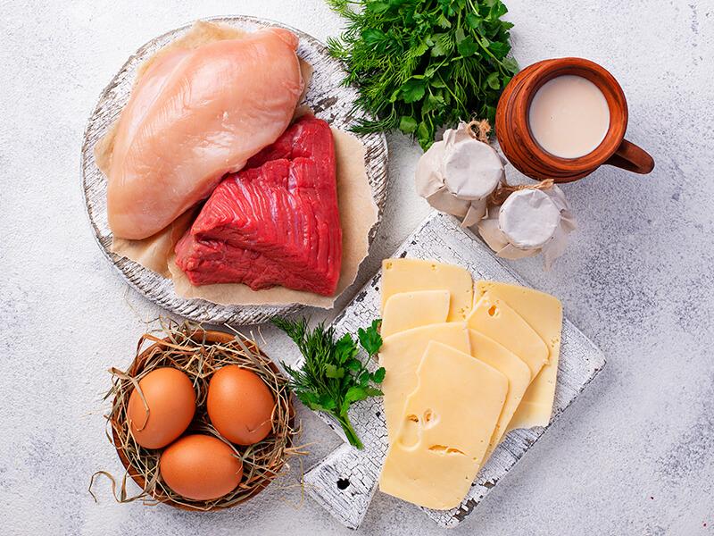 V prerušovanej diéte je potrebné využívať kvalitné zdroje bielkovín